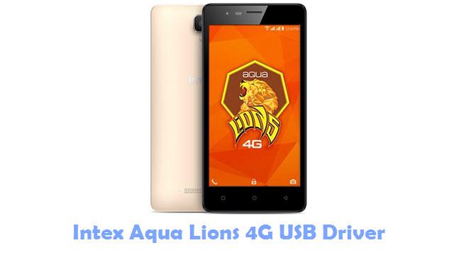 Download Intex Aqua Lions 4G USB Driver