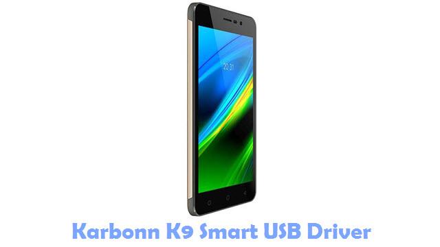 Karbonn K9 Smart USB Driver