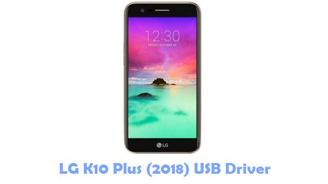 LG K10 Plus (2018) USB Driver
