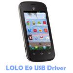 Download LOLO E9 USB Driver