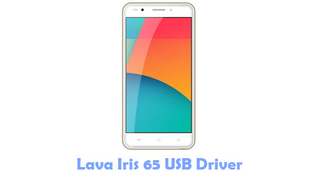 Download Lava Iris 65 USB Driver