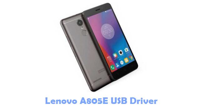 Download Lenovo A805E USB Driver