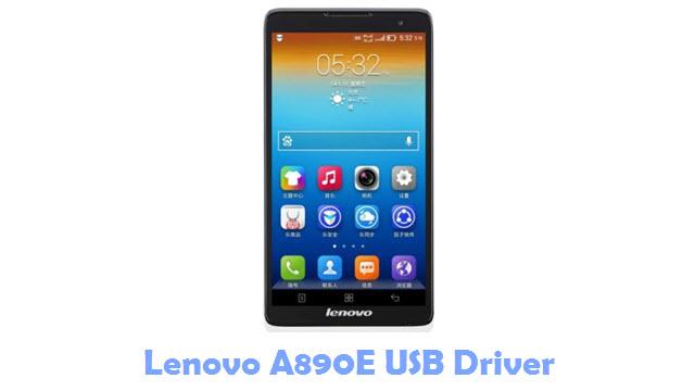 Download Lenovo A890E USB Driver