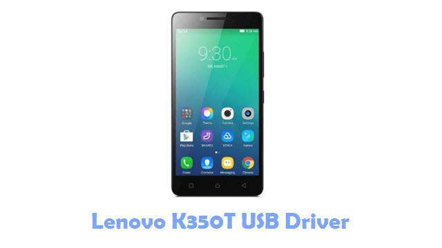 Download Lenovo K350T USB Driver