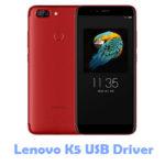 Lenovo K5 USB Driver