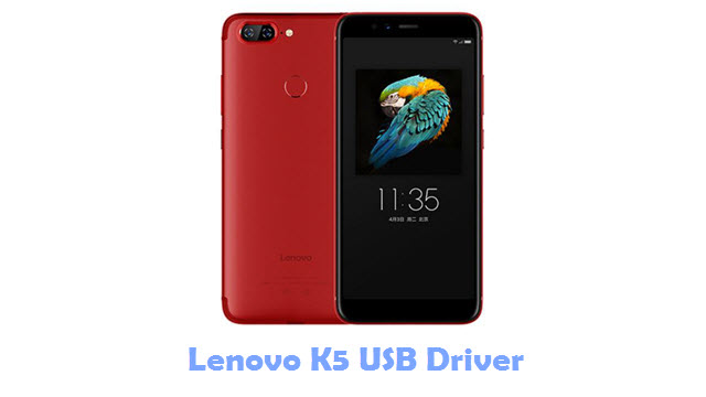 Download Lenovo K5 USB Driver