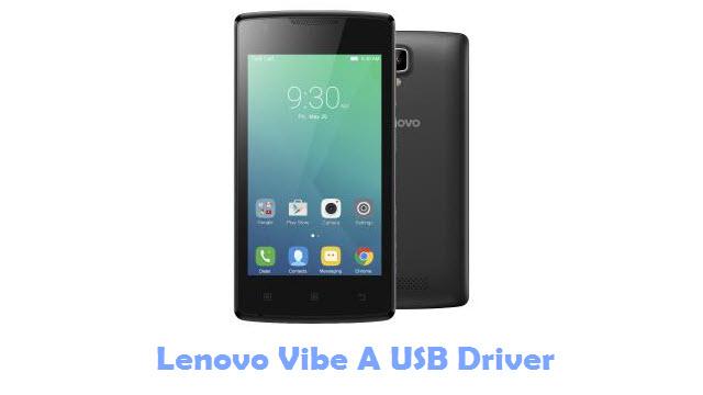 Lenovo Vibe A USB Driver