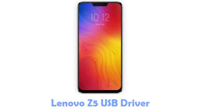 Lenovo Z5 USB Driver
