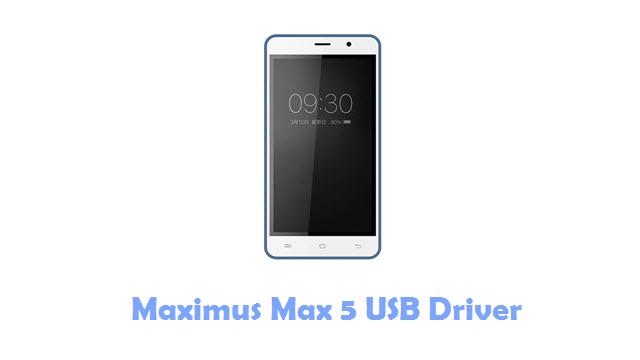 Download Maximus Max 5 USB Driver