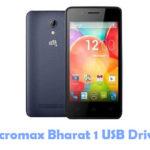 Micromax Bharat 1 USB Driver