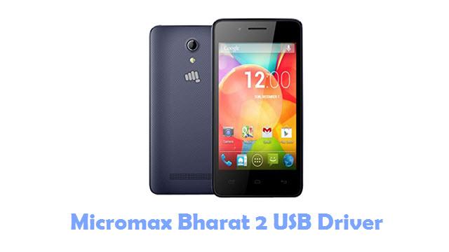 Download Micromax Bharat 2 USB Driver
