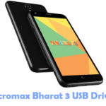 Micromax Bharat 3 USB Driver
