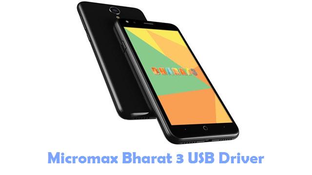 Download Micromax Bharat 3 USB Driver