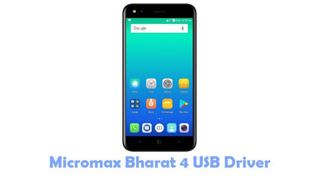 Download Micromax Bharat 4 USB Driver