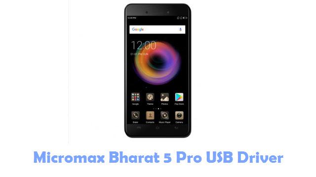 Micromax Bharat 5 Pro USB Driver
