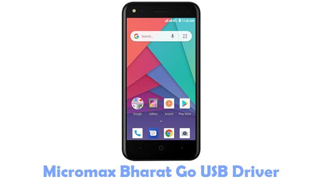 Micromax Bharat Go USB Driver