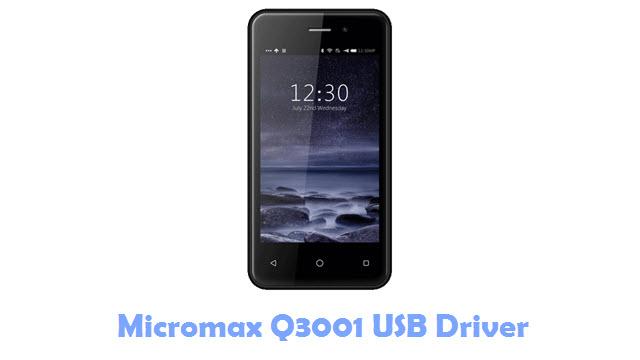 Download Micromax Q3001 USB Driver