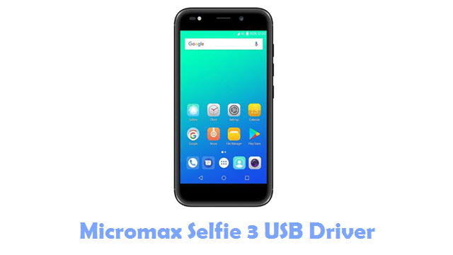 Download Micromax Selfie 3 USB Driver