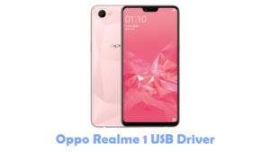 Download Oppo Realme 1 USB Driver | All USB Drivers