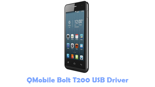 Download QMobile Bolt T200 USB Driver