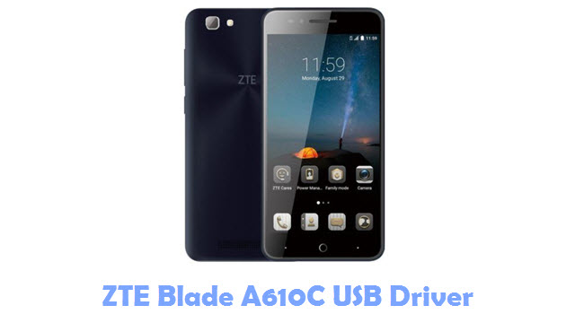 Download ZTE Blade A610C USB Driver