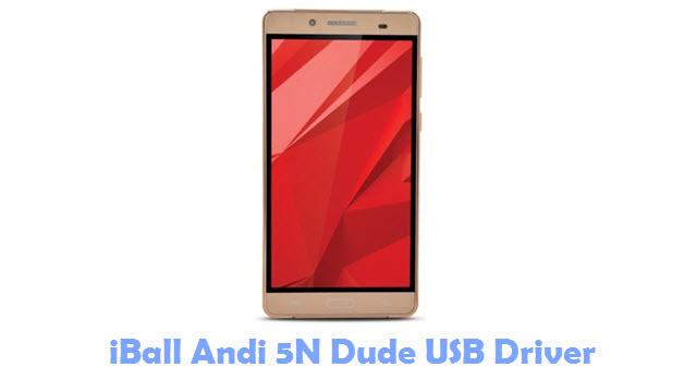 Download iBall Andi 5N Dude USB Driver