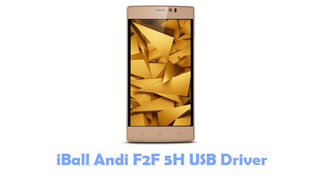 Download iBall Andi F2F 5H USB Driver