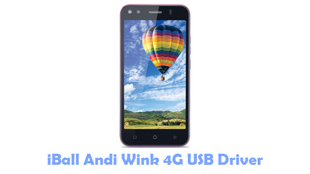 Download iBall Andi Wink 4G USB Driver