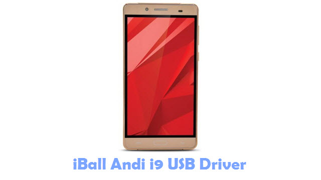 iBall Andi i9 USB Driver