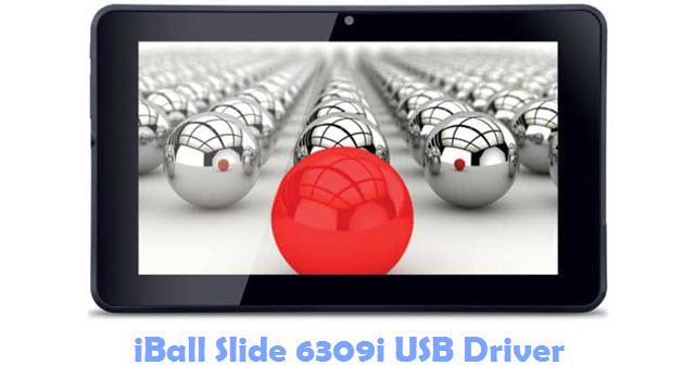 Download iBall Slide 6309i USB Driver
