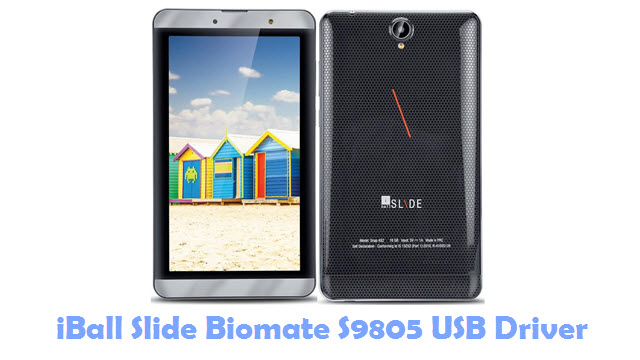 Download iBall Slide Biomate S9805 USB Driver