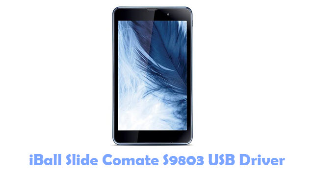 Download iBall Slide Comate S9803 USB Driver