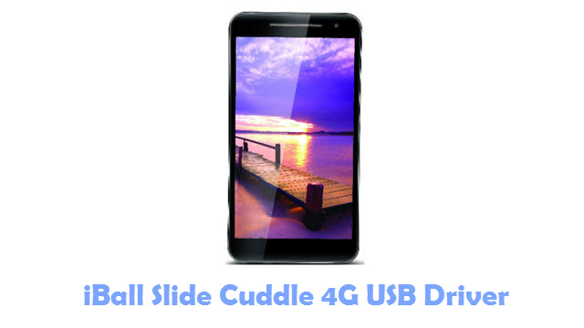 Download iBall Slide Cuddle 4G USB Driver