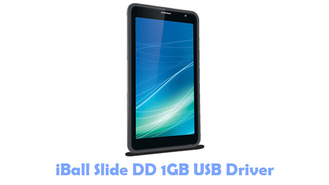 iBall Slide DD 1GB USB Driver