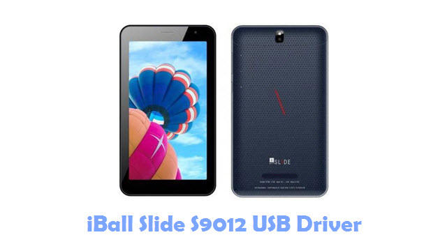 Download iBall Slide S9012 USB Driver
