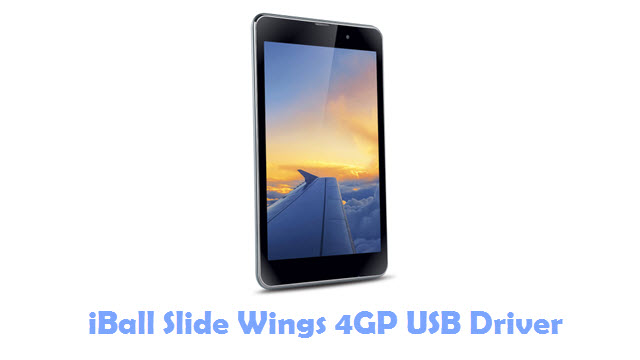 Download iBall Slide Wings 4GP USB Driver