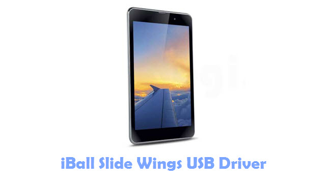 Download iBall Slide Wings USB Driver