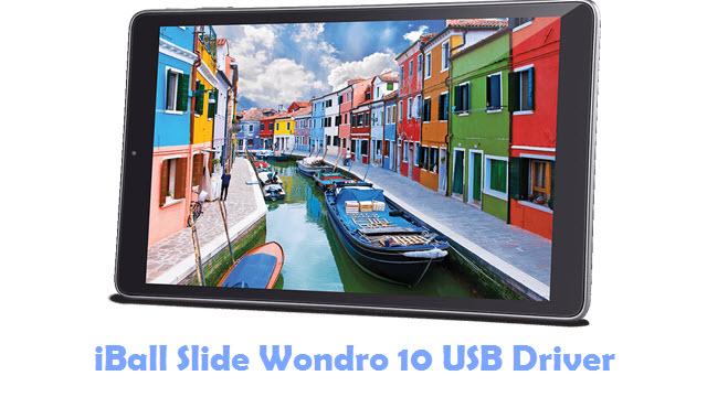 Download iBall Slide Wondro 10 USB Driver