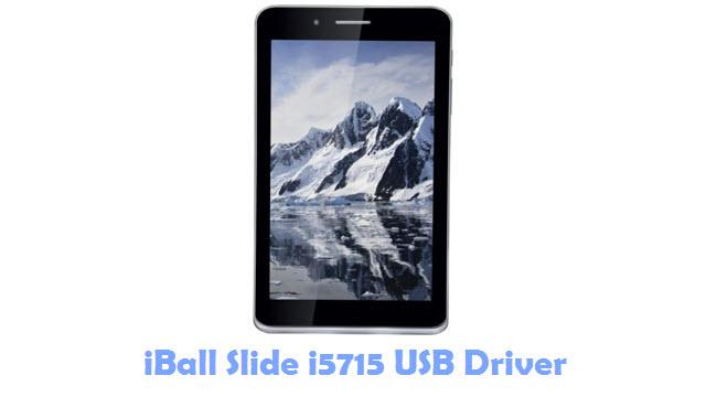 Download iBall Slide i5715 USB Driver