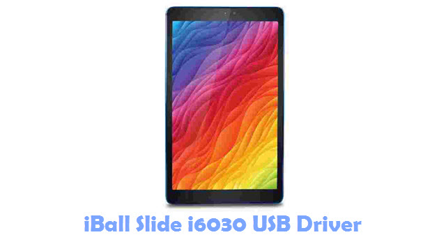 Download iBall Slide i6030 USB Driver