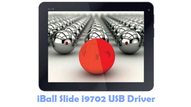 Download iBall Slide i9702 USB Driver