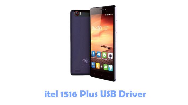 Download itel 1516 Plus USB Driver