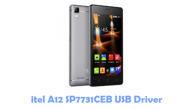 Download itel A12 SP7731CEB USB Driver