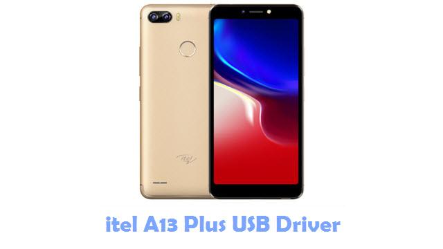 itel A13 Plus USB Driver