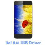 itel A16 USB Driver