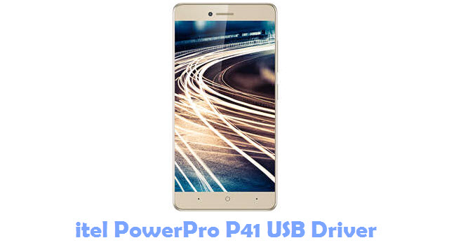 Download itel PowerPro P41 USB Driver