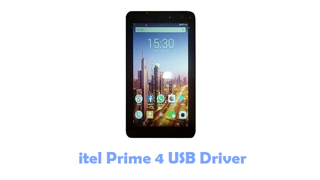 Download itel Prime 4 USB Driver