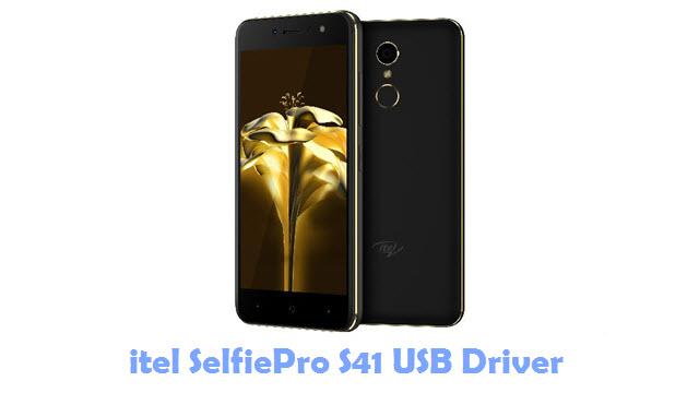 Download itel SelfiePro S41 USB Driver