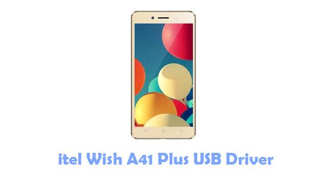 Download itel Wish A41 Plus USB Driver