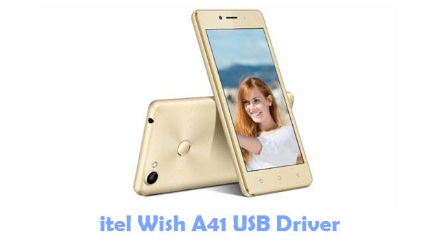 Download itel Wish A41 USB Driver